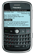 Board Feet Calculator for BlackBerry